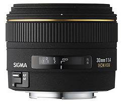 Sigma 30mm f/1.4