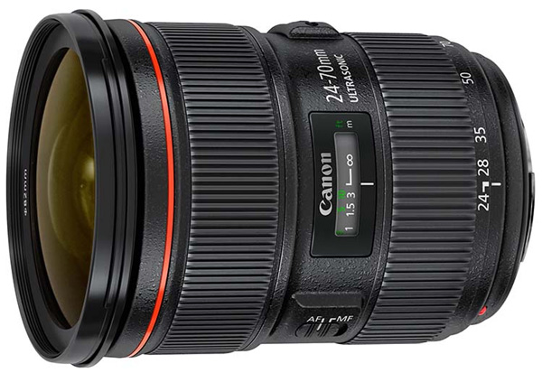 Canon 24-70mm f/2.8 L mark II