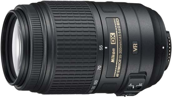 Nikkor DX 55-300mm f/4.5-5.6G ED VR AF-S