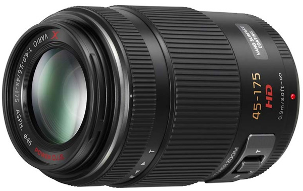Panasonic Lumix G X Vario PZ 45-175mm f/4.0-5.6 ASPH Power OIS