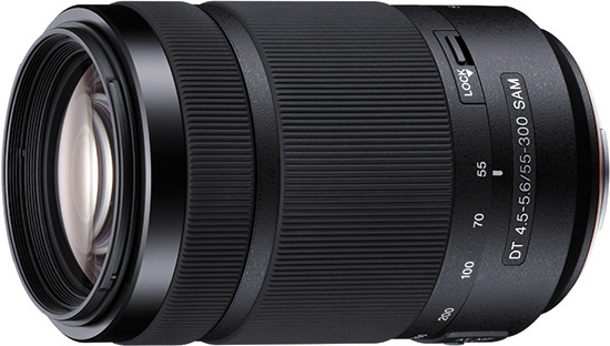 Sony DT 55-300mm f/4.5-5.6 SAM