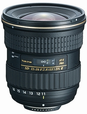 Tokina 11-16mm f/2.8 AT-X Pro IF Aspherical DX II